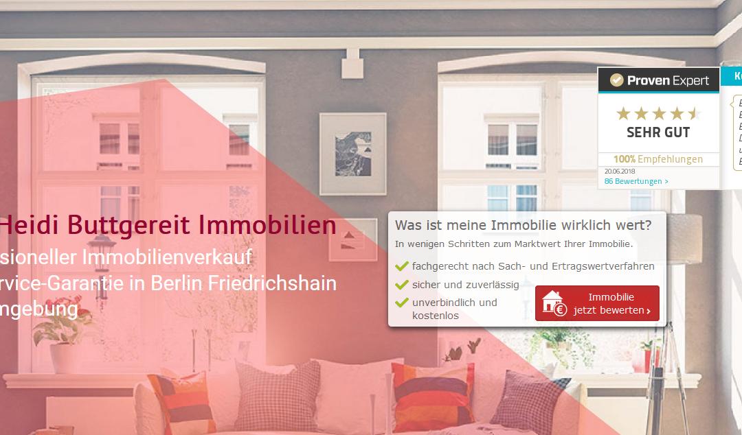Neuer Service: Immobilie online bewerten lassen